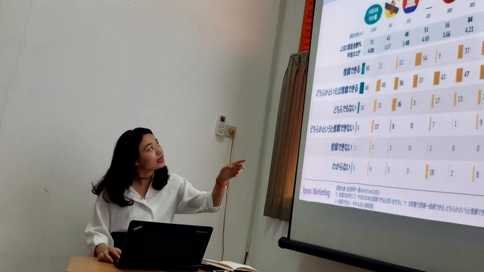 Jurusan Hubungan Internasional X China Circle Study: Diskusi Relasi Indonesia-Jepang Bersama Zheng Haiying