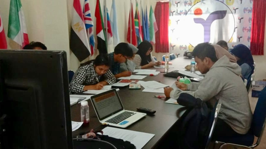 Kerja Pertama KTA Baru: Sosialisasi Tugas Akhir