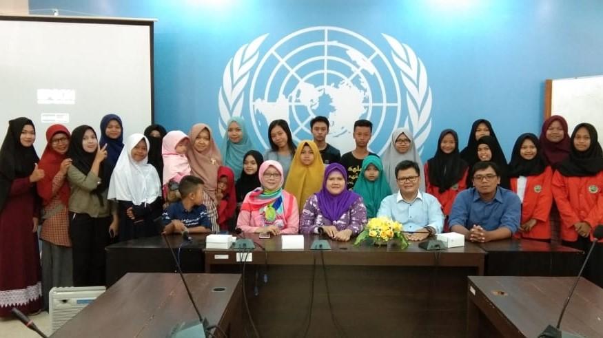 Kunjungan Siswa PKBM Ar Rosyid  ke Jurusan Hubungan Internasional