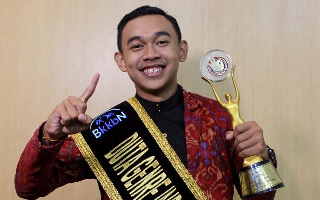 Profil Mahasiswa Baru Arya Aditia Utama: Duta Genre Indonesia 2019