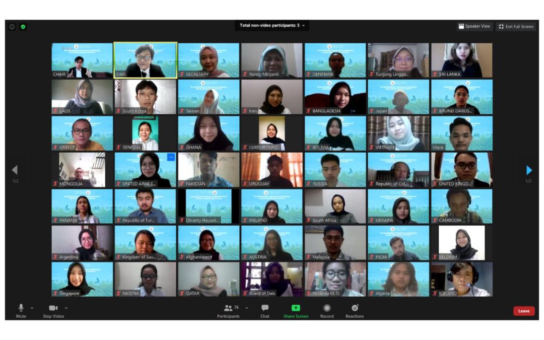 Praktikum Mata Kuliah Ekonomi Politik Internasional secara Virtual Melalui Simulasi Sidang WTO